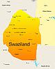 Векторный клипарт: Свазиленд