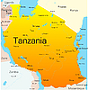 Vektor Cliparts: Tansania