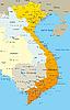 Vector clipart: Vietnam map