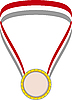 Vector clipart: Gold Medal
