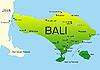 Vector clipart: Bali