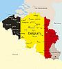 Vector clipart: Belgium