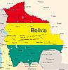 Vector clipart: Bolivia