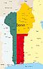 Vector clipart: Benin