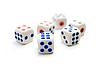ID 3034895   Niebieskie i czerwone kostki   Foto stockowe wysokiej rozdzielczości   KLIPARTO