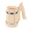 Photo 300 DPI: wooden handmade mug