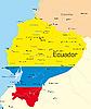 Векторный клипарт: Эквадор