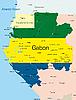 Векторный клипарт: Габон