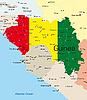 Векторный клипарт: Гвинея