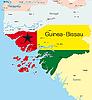 Векторный клипарт: Гвинея-Бисау
