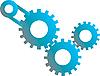 Vektor Cliparts: Gears Maschinen