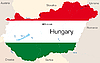 Vector clipart: Hungary