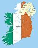 Векторный клипарт: Ирландия