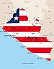 Vector clipart: Liberia