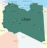 Vector clipart: Libya
