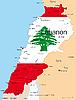 Vector clipart: Lebanon
