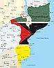 Vektor Cliparts: Mosambik