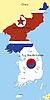Векторный клипарт: Корея