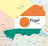 Векторный клипарт: Нигер