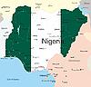 Векторный клипарт: Нигерия