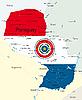 Векторный клипарт: Парагвай