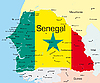 Vector clipart: Senegal