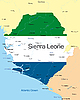 Векторный клипарт: Сьерра-Леоне