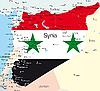 Векторный клипарт: Сирия