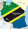 Векторный клипарт: Танзания