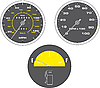 Vector clipart: Speedometer