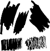 Vector clipart: set of brushes