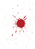 Vector clipart: grunge blood spot