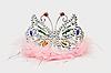 Vektor Cliparts: Prinzessin lila Tiara