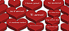 Photo 300 DPI: A lot of hearts