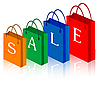 sale shopping bags