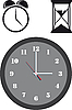 Vektor Cliparts: Clock