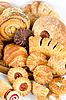 Photo 300 DPI: Bakery foodstuffs set