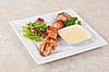 Grilled chicken kebab | Stock Foto