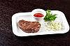 Photo 300 DPI: Juicy roasted beef steak