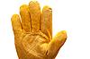 Yellow work glove | Stock Foto