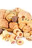 Bakery foodstuffs set   Stock Foto