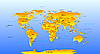 Vector clipart: Map of the World