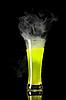 Photo 300 DPI: Yellow radioactive alcohol