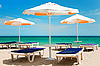 ID 3020492   Beach umbrellas and chairs    High resolution stock photo   CLIPARTO