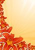 Vector clipart: floral corner