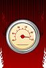 火灾测速仪 | 向量插图