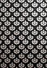 Vector clipart: Vertical black and silver glamour pattern