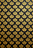 Vector clipart: Vertical black and gold glamour pattern