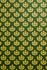 Vector clipart: green and gold glamour pattern