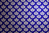 Vector clipart: blue and silver glamour pattern
